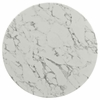 "Lippa 36"" Artificial Marble Dining Table"