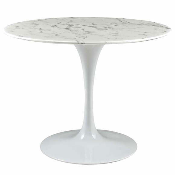 "Lippa 40"" Artificial Marble Dining Table"