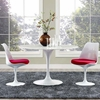 """Lippa 47"""" Artificial Marble Dining Table"""