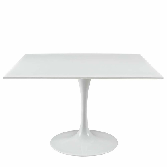 "Lippa 47"" Square Wood Top Dining Table"