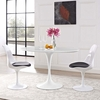 """Lippa 48"""" Oval-Shaped Wood Top Dining Table"""