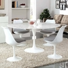 """Lippa 60"""" Artificial Marble Dining Table"""