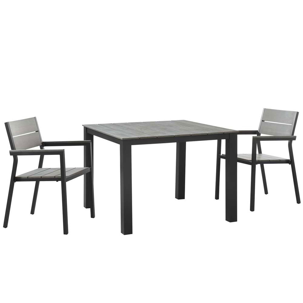 3 piece outdoor dining set bar countertop outdoor sets
