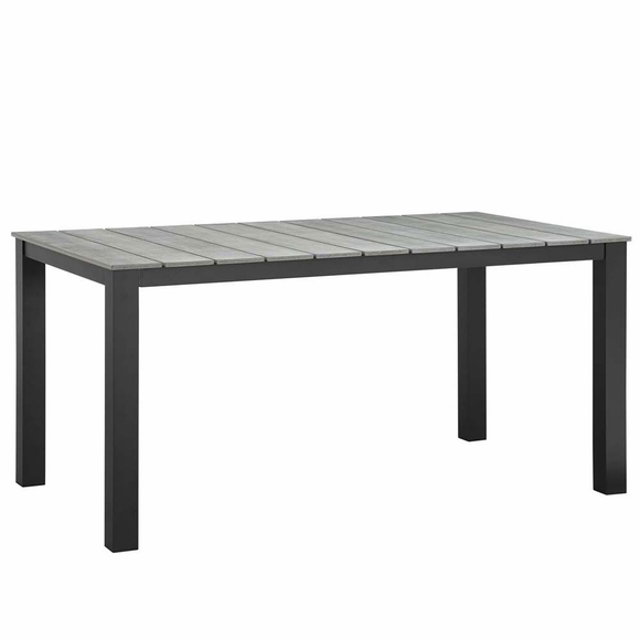 """Maine 63"""" Outdoor Patio Dining Table"""