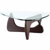 Modern Tribeca Coffee Table Dark Walnut
