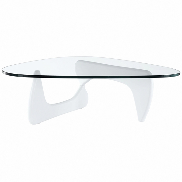 Modern Tribeca Coffee Table White