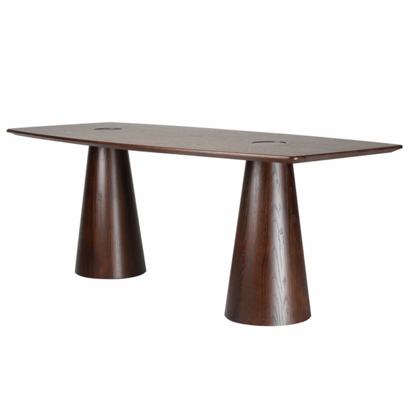 Orchard Dining Table, Mid Walnut