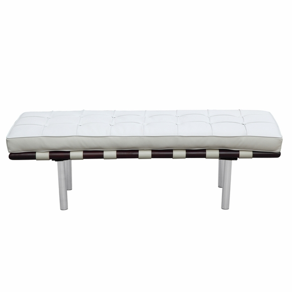 Hokku Designs Revionna Two Seat Bench With Storage: Pavilion 2 Seater Leather Bench