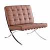 Pavilion Chair in Italian Leather