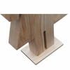 Person Table Lamp Female, Natural