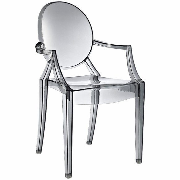 starck ghost chair clear side arm chair modern in designs. Black Bedroom Furniture Sets. Home Design Ideas