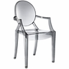 Philippe Starck Style Ghost Arm Chair