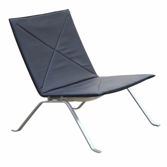 Pika 22 Leather Lounge Chair
