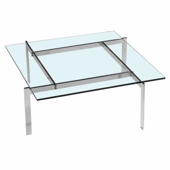 Pika 61 coffee table clear modern in designs for Clear coffee table