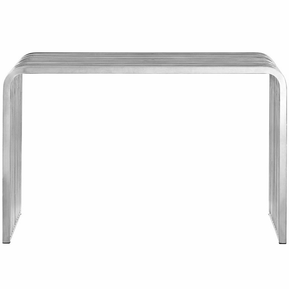 Pipe Stainless Steel Console Table Modern In Designs