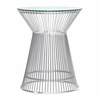 Platner Side Table, Glass