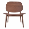Priest Lounge Chair Walnut Set of 2