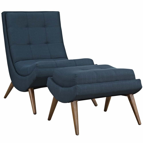 Ramp Fabric Lounge Chair Set