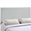Region Full Upholstered Headboard in Sky Gray