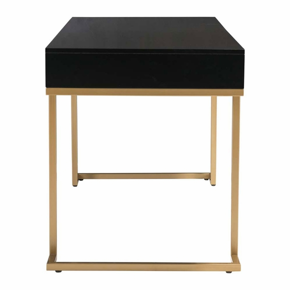 Revell Desk Black Amp Brass Modern In Designs