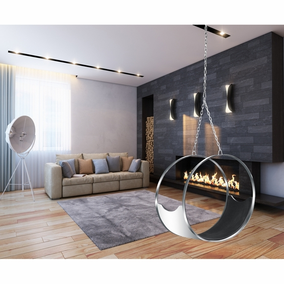 Ring Hanging Chair Black Modern In Designs