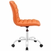 Ripple Armless Mid Back Office Chair