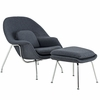 Saarinen Womb Lounge Chair & Ottoman