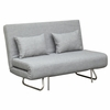 Sabatino Loveseat Sofa Bed, Gray