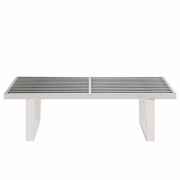 Sauna stainless steel bench modern in designs