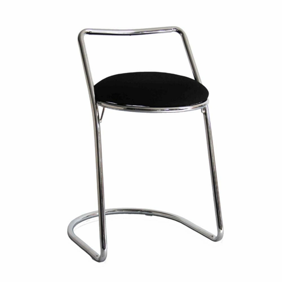 Sled Chrome Bar Stool