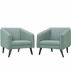 Slide Armchairs Set of 2
