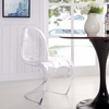 Slither Dining Acrylic Side Chair