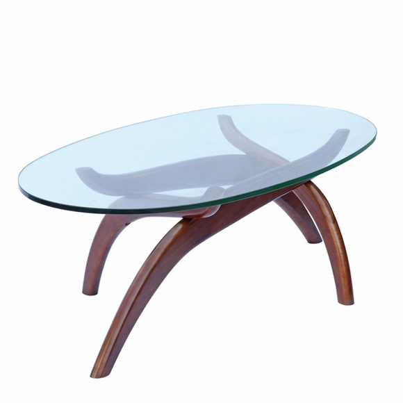 Spider Glass Coffee Table Modern In Designs