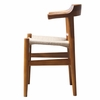 Stringta Natural Hemp Dining Side Chair