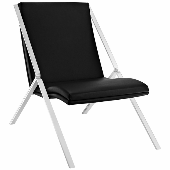Swing Lounge Chair - Leatherette