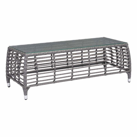 Trek Beach Coffee Table Gray & Beige