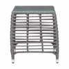 Trek Beach Side Table Gray & Beige