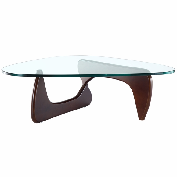 Modern Tribeca Triangular Coffee Table