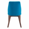 Vaz Dining Chair Blue Velvet