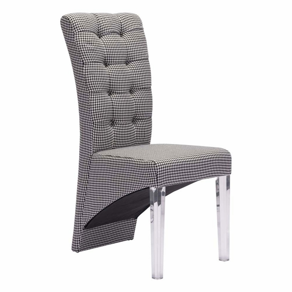 Waldorf Dining Chair Houndstooth