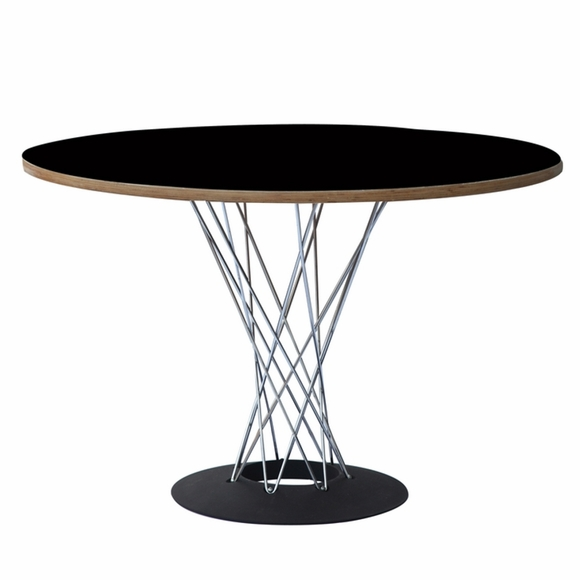"Wire 42"" Plywood Dining Table"