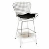 Wire Bar Height Chair, Black