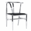 Wishsteel Dining Chair, Black