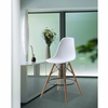 Woodleg Counter Chair Round Base, White