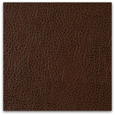 Brown Leatherette cut by the yard