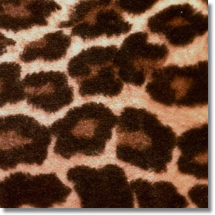 Jaguar Print Fabric cut by the yard