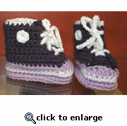 Baby Booties by Laurene style #1