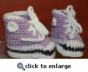 Baby Booties by Laurene style #3