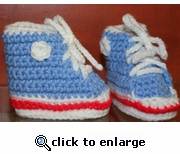 Baby Booties by Laurene style #5