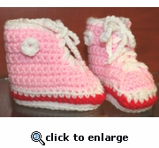 Baby Booties by Laurene style #8